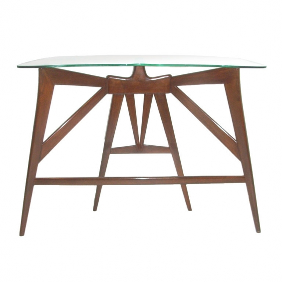 modern Tvstands co likewise Oval Glass Top Coffee Table in addition Sofa Table With Stools Underneath further Lacquered Dining Table together with Iteminformation. on tables gl console